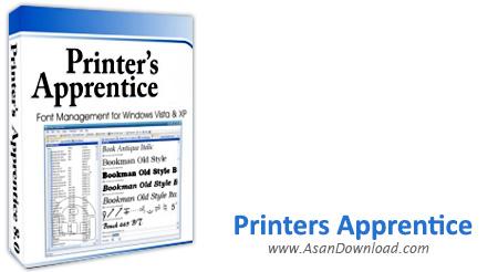 دانلود Printers Apprentice v8.1.34.1 - نرم افزار مدیریت فونت ها