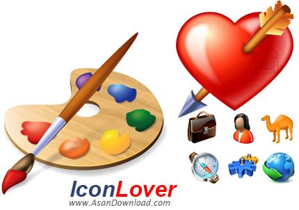 دانلود IconLover v5.42 - نرم افزار مدیریت ویرایش و طراحی ساخت آیکون