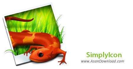 دانلود SimplyIcon v1.1 - نرم افزار تبدیل عکس ها به آیکون