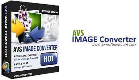 دانلود AVS Image Converter v5.1.1.296 - نرم افزار تبدیل فرمت تصاویر