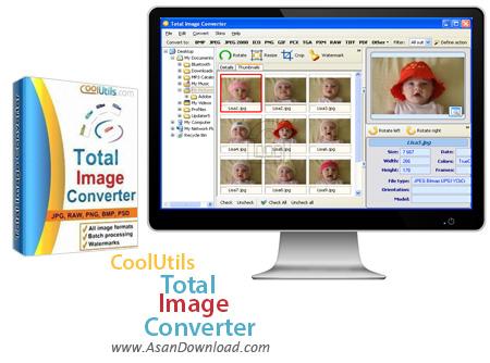 دانلود CoolUtils Total Image Converter v7.1.1.147 - نرم افزار تبدیل فرمت عکس ها