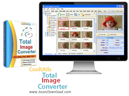 دانلود CoolUtils Total Image Converter 7.1.1.147 - مبدل عکس
