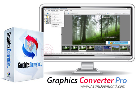 دانلود Graphics Converter Pro 2013 v3.20 - نرم افزار تبدیل فرمت تصاویر