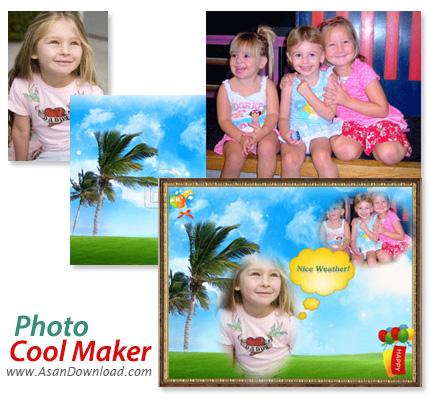 دانلود Photo Cool Maker v3.7.0 - نرم افزار ترکیب و تزئین تصاویر