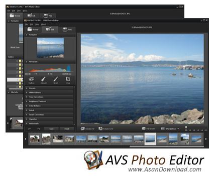 دانلود AVS Photo Editor v3.1.1.160 - نرم افزار مدیریت و ویرایش تصاویر