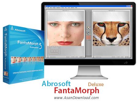 دانلود Abrosoft FantaMorph Deluxe v5.4.5 - نرم افزار مونتاژ حرفه ای عكس ها