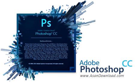 دانلود Adobe Photoshop CC 2014 v15.0.0.58 x86/x64 - نرم افزار ادوبی فتوشاپ سی سی