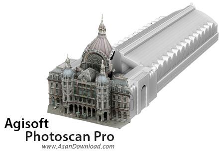 دانلود Agisoft Photoscan Pro v1.5.3.8469 - نرم افزار ساخت عکس های سه بعدی