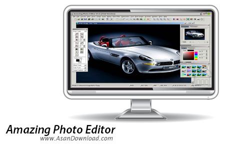 دانلود Amazing Photo Editor v7.9 - نرم افزار ویرایش و تبدیل تصاویر