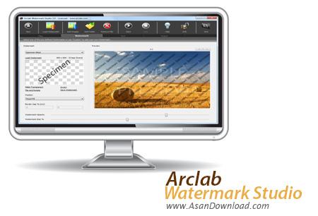 دانلود Arclab Watermark Studio v2.1 - نرم افزار نشانه دار کردن تصاویر