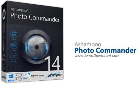 دانلود Ashampoo Photo Commander v14.0.1 - نرم افزار مدیریت و ویرایش تصاویر