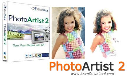 دانلود BenVista PhotoArtist v2.0.8 - نرم افزار تبدیل عکس ها به نقاشی