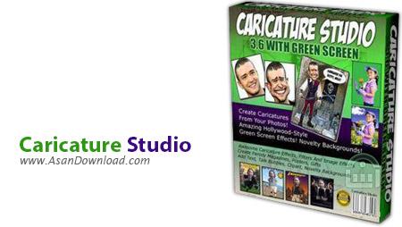 دانلود Caricature Studio v6.6.12.526 - نرم افزار طراحی کاریکاتور و ترکیب تصاویر