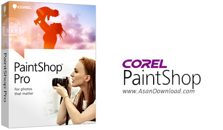 دانلود Corel PaintShop Pro X8 v18.0.0.124 - نرم افزار قدرتمند ویرایش تصاویر و خلق تصاویر هنری