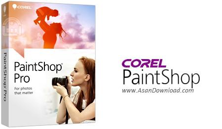 دانلود Corel PaintShop Pro v22.0.0.132 + Ultimate + Content Pack - نرم افزار قدرتمند ویرایش تصاویر و خلق تصاویر هنری