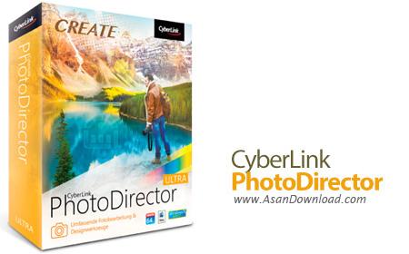 دانلود CyberLink PhotoDirector Ultra v9.0.2727.0 - نرم افزار ویرایش عکس