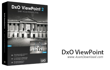 دانلود DxO ViewPoint v2.5.0 - نرم افزار ویرایش عناصر تصاویر