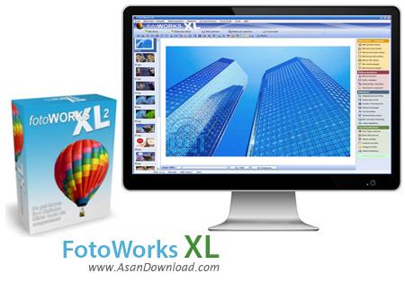 دانلود FotoWorks XL 2 v15.0.2 - نرم افزار ویرایش آسان عکس