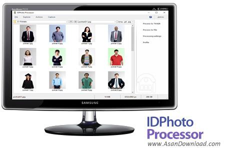 دانلود IDPhoto Processor v3.0.32 - نرم افزار پردازش گروهی عکس های پرسنلی