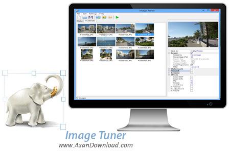 دانلود Image Tuner v6.5 - نرم افزار تغییر اندازه و فرمت سریع تصاویر