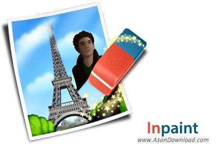 دانلود Inpaint v5.0 - نرم افزار ترمیم، بازسازی و حذف اجسام  اضافی از تصاویر