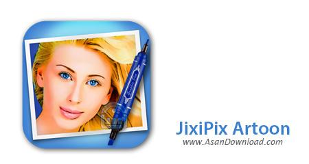 دانلود JixiPix Artoon v1.03 - نرم افزار ساخت تصاویر کارتونی