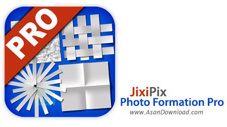 دانلود JixiPix Photo Formation Pro v1.0.7 - نرم افزار ساخت تصایر جذاب