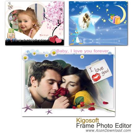دانلود Kigosoft Frame Photo Editor v5.0.2 - قاب های دیجیتالی برای تصاویر