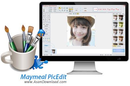 دانلود Maymeal PicEdit v3.80 - نرم افزار ویرایش ساده و سریع تصاویر