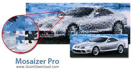 دانلود Mosaizer Pro v12.0 - نرم افزار ساخت تصاویر موزاییکی