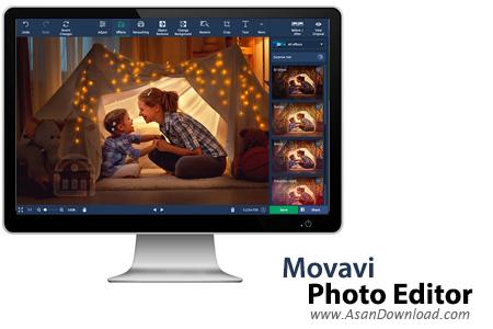 دانلود Movavi Photo Editor v5.5.1 - نرم افزار ویرایشگر عکس