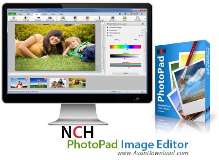 دانلود NCH PhotoPad Image Editor v2.58 - نرم افزار ویرایش عکس ها