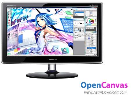 دانلود OpenCanvas v7.0.15 - نرم افزار طراحی، نقاشی و ویرایش تصاویر