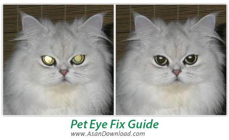 دانلود Pet Eye Fix Guide v2.2.5 - نرم افزار ویرایش رنگ قرمز چشم در تصاویر
