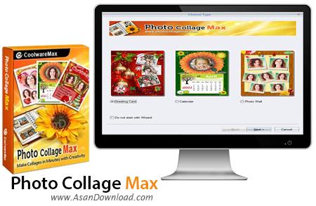 دانلود Photo Collage Max v2.3.0.8 - نرم افزار قرار دادن قاب روی تصاویر