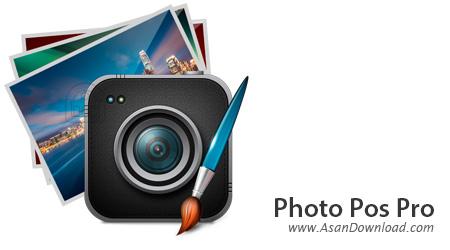 دانلود Photo Pos Pro v1.90.5 - نرم افزار رایگان ویرایش تصاویر
