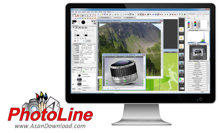 دانلود PhotoLine v20.54 - نرم افزار ساخت و ویرایش تصاویر