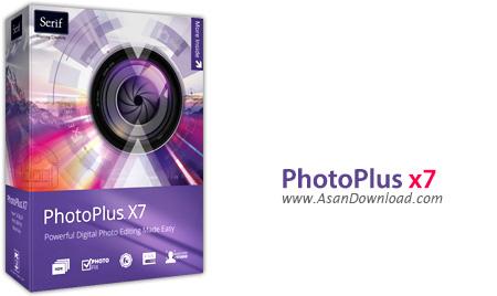 دانلود Serif PhotoPlus X7 v17.0.0.18 - نرم افزار حرفه ای ویرایش و تصحیح تصاویر