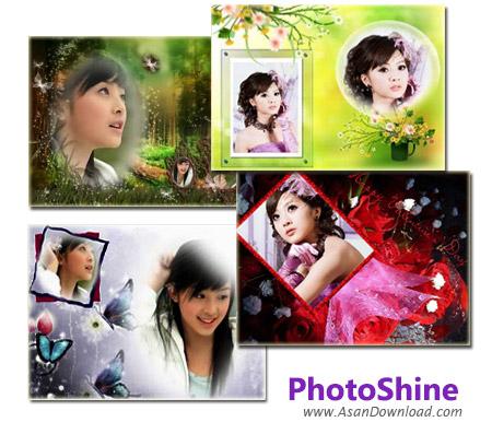 دانلود Picget PhotoShine v4.0 - نرم افزار قرار دادن قالب های بسیار زیبا بر روی تصاویر