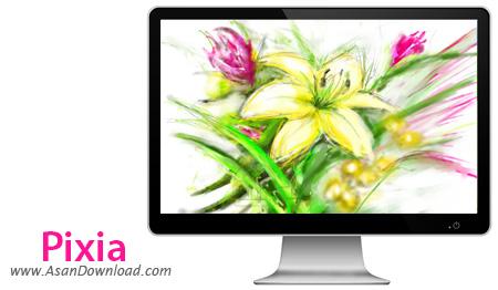 دانلود Pixia v6.0.200.0 - نرم افزار نقاشی و رتوش تصاویر