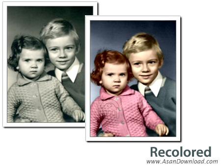 دانلود Recolored v1.1.0 - نرم افزار رنگی کردن عکس های سیاه و سفید
