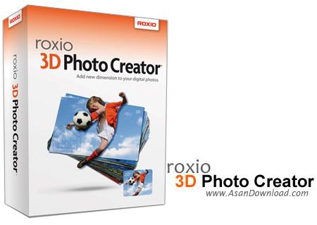 دانلود Roxio 3D Photo Creator v1.0 - نرم افزار ساخت تصاویر سه بعدی