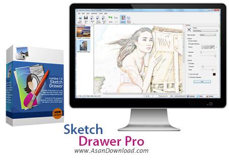 دانلود Sketch Drawer Pro v1.4 - نرم افزار تبدیل عکس هابه نقاشی