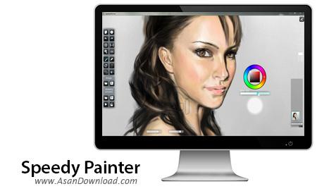 دانلود Speedy Painter v3.5.16 - نرم افزار طراحی و ویرایش عکس ها