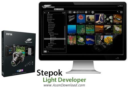 دانلود Stepok Light Developer v7.9 - نرم افزار سازماندهی و ویرایش تصاویر