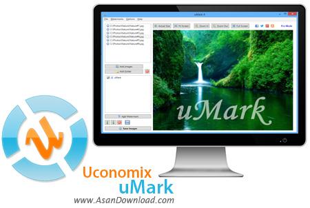 دانلود Uconomix uMark Professional v6.1 - قرار دادن واترمارک رو عکس ها