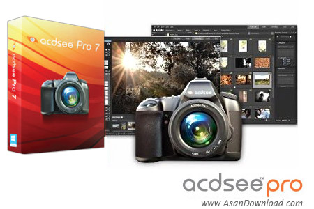 دانلود ACDSee Pro v8.0 Build 263 x86/x64 - نرم افزار مدیریت حرفه ای و قدرتمند عکس ها
