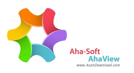دانلود Aha-Soft AhaView v4.59 - نرم افزار مشاهده تصاویر