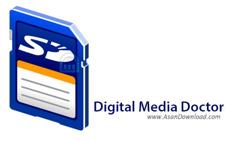 دانلود Digital Media Doctor 2015 Professional v3.1.1.6 - نرم افزار مدیریت فایل های چندرسانه ای روی کارت های حافظه