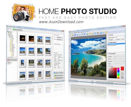 دانلود Home Photo Studio v3.15 - نرم افزار مدیریت و ویرایش تصاویر